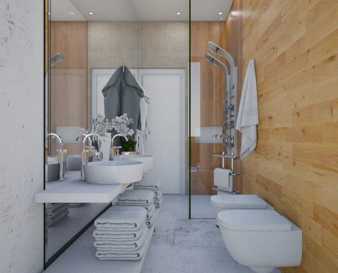 Bagno Ospiti Interior Designer Milano