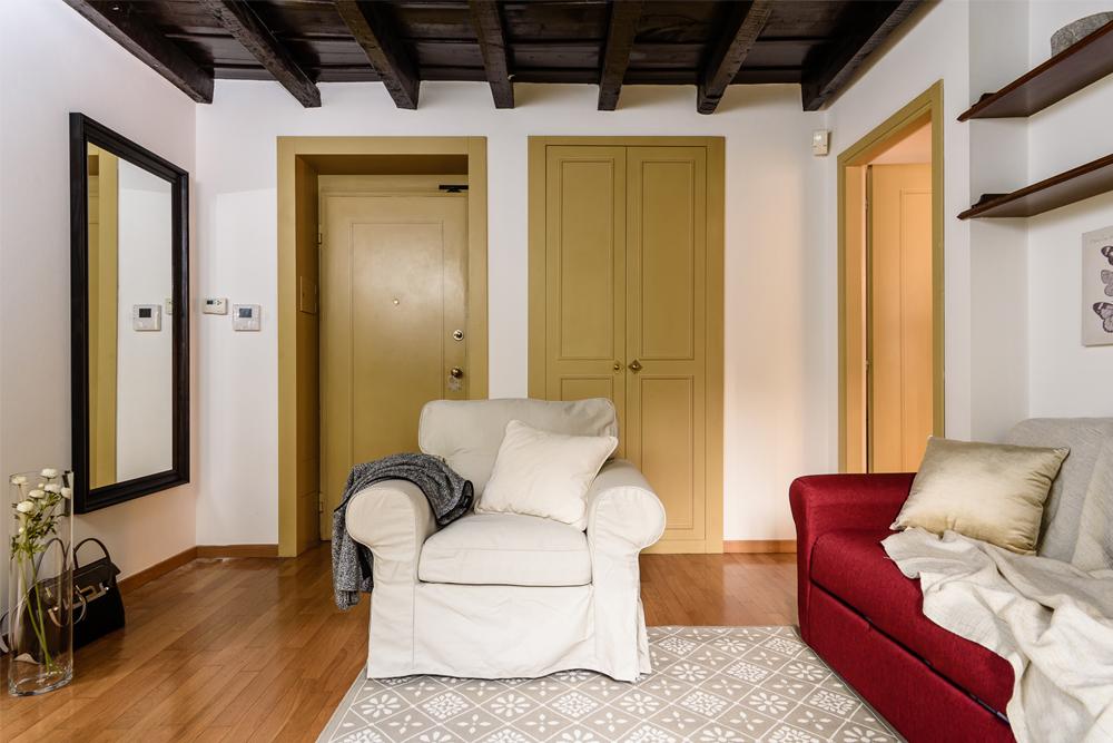 Soggiorno dai cenni classici interior design district en rose