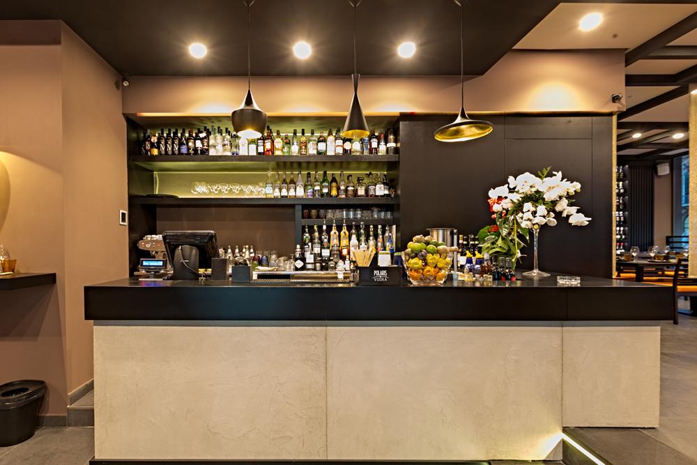 bancone sushi bar restaurant interior design district en rose