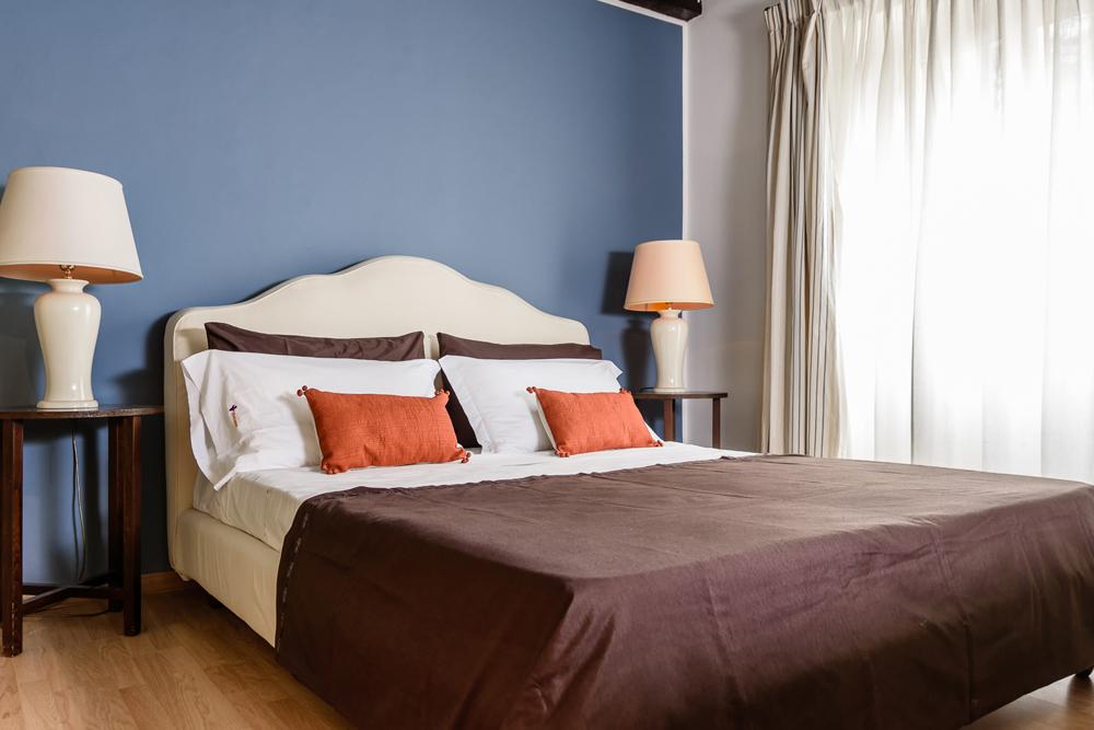 camera dai cenni classici interior design district en rose