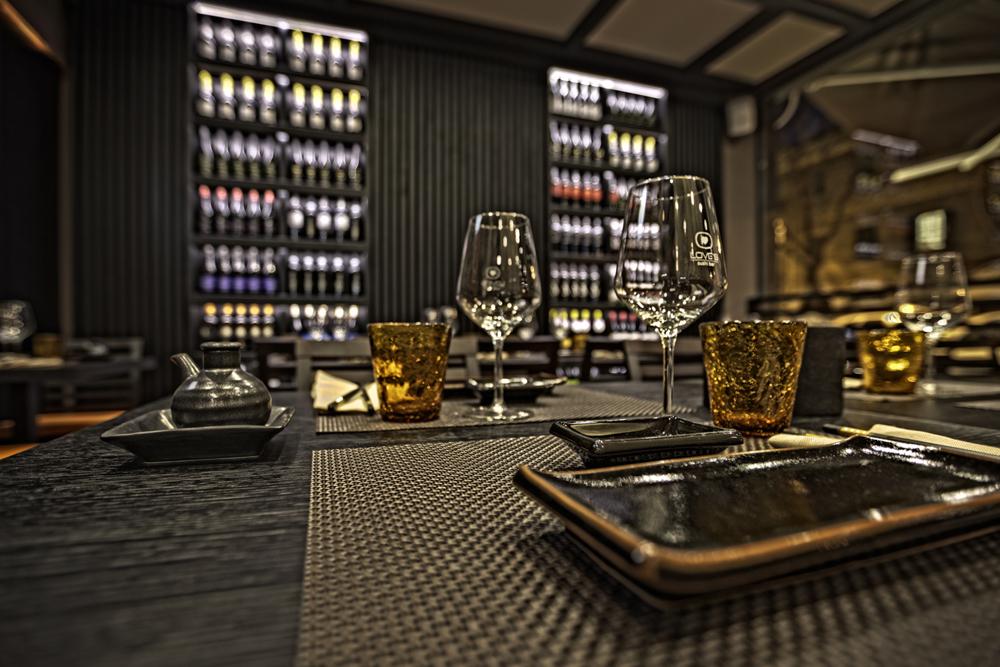 tavolo sushi bar restaurant interior design district en rose