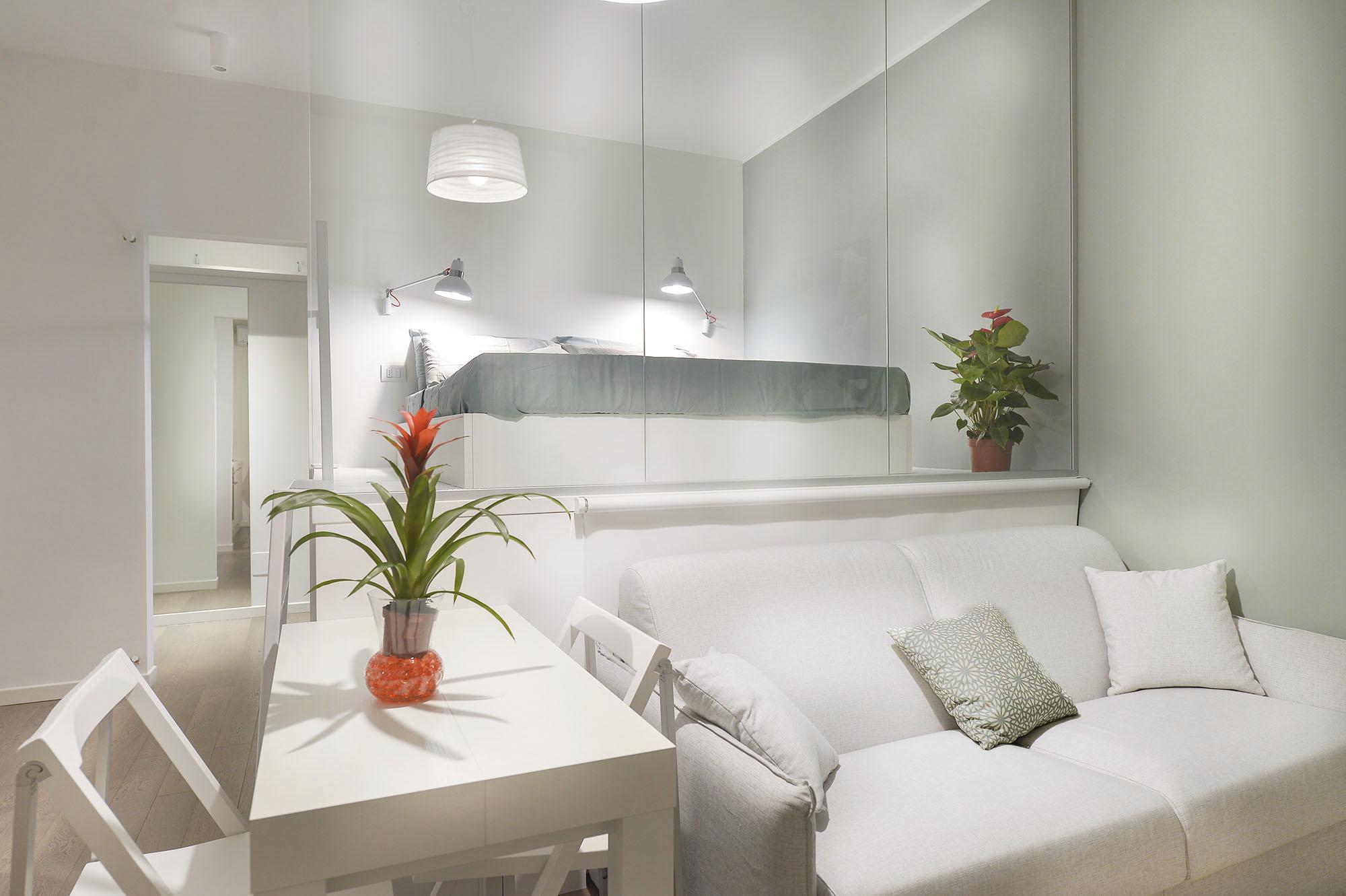 appartamento dai tocchi industrial milano