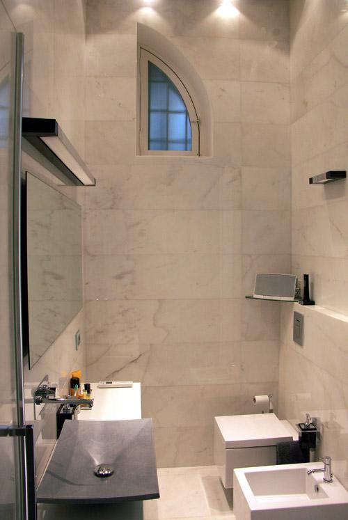 Ristrutturazione di una Casa di Design a Roma_bagno