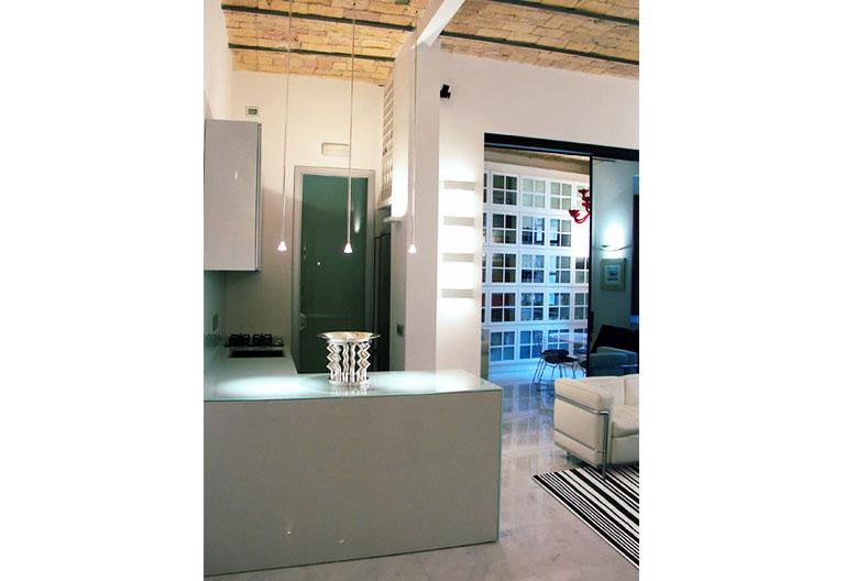 Ristrutturazione di una Casa di Design a Roma_Cucina