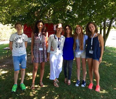 La redazione di H campus con Sabrina Lanza