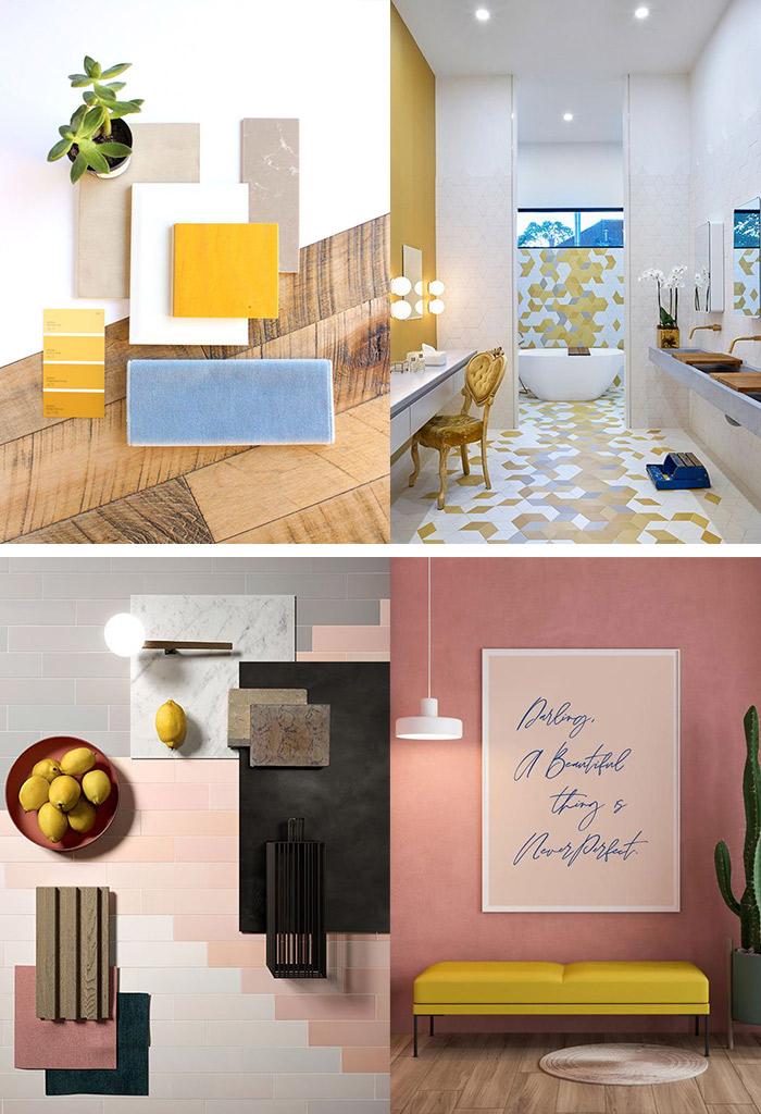 Abbinamenti colori casa 2021